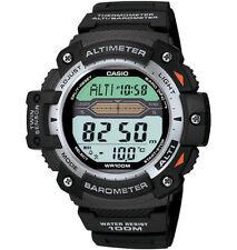 Casio Twin Sensor Watch, Altimeter, Barometer, Thermometer, 5 Alarms,SGW300H-1AV