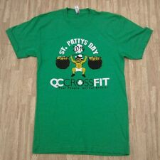 Quad City CrossFit St. Patrick's Day 2014 Shirt ~ Small S ~ Seth Rollins Gym
