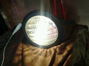 Vintage Craftsman Headlight Assembly 49587 35 watts Tractor Snowblower Light
