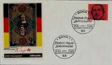 BRD FDC MiNr 657 (17) 150. Geburtstag von Friedrich Engels -Publizist-Sozialist-