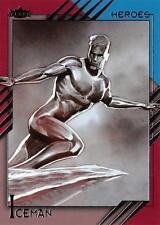 ICEMAN / 2015 Marvel Fleer Retro (Upper Deck) BASE Trading Card #26
