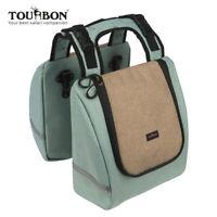 Tourbon Kühltasche Isolierte Picknick Tasche Fahrrad Packtaschen Gepäckträger