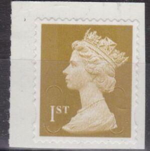z5157) Great Britain - Machins. 2011. MNH. SG u3020 1st Gold. M11L-MTIL