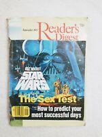 Vintage Star Wars Readers Digest Sept 1977 Rare 43 Yrs Old Still Glued On