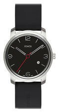 Neues Modell ! XEMEX Armbanduhr PICCADILLY QUARTZ Ref. 880.03 3 HANDS DATE