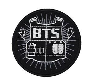 BTS Patch K-Pop Hip Hop Korean Music Band Logo