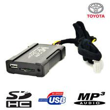 Boîtier USB Auxiliaire MP3 pour autoradios d'origine Toyota à partir de 2004