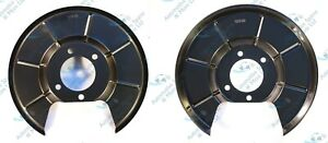 Ford Galaxy Mondeo IV S-Max x2 Rear Brake Disc Dust Cover Back Plate Shield Pair