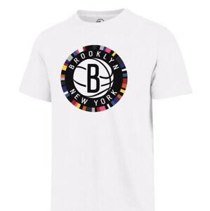 Brooklyn Nets Bed Stuy 47 Brand Men's White T Shirt  Size XL Kyrie KD