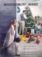 1961 MONTGOMERY WARD '61 CHRISTMAS Catalog Wishbook WARDS