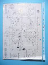 Service Schema für Telefunken Kavalier 3291 ,ORIGINAL