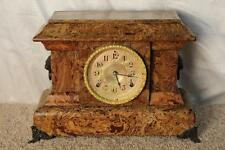 Antique Seth Thomas Butternut Adamantine Clock ~ Made in 1893 ~