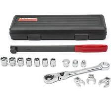 GearWrench KDT89000 15 Pc. Serpentine Belt Tool Set with Locking Flex Head Ratc
