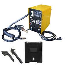 Welder Flux/Mig W/ Auto Wire Feed - Gas/No Gas Metalworking 110V/130 Amp