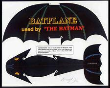 BATMAN REPRO 1943 PROMO PAPER BATPLANE . DC COMICS NOT DVD