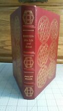 EASTON PRESS EINSTEIN HIS LIFE AND TIMES COLLECTORS EDITION  BY PHILIP FRANK