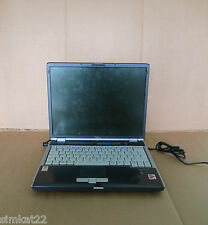 "Fujitsu Lifebook S7020 - Pentium M760 2.00GHz, NO RAM 14.1"" Laptop Scratched Lid"