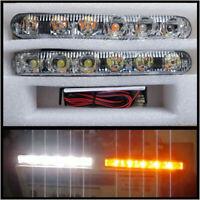 LED DRL Daytime Running Lights + Turn Signal Indicators VW Golf mk5 Passat B6 CC