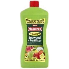 Seaweed & Fertiliser Premium 600 mL Multicrop Maxicrop Garden Plant Fertilizer