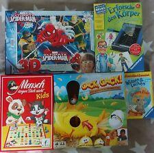 Gesellschaftsspiele Brettspiele Konvolut Paket Ravensburger Gackgack Puzzle