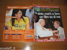 TV SORRISI E CANZONI=2004/47=PAPA GIOVANNI PAOLO II=PIOTR ADAMCZYK=