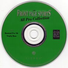 FPS: Baseball Pro '96 & Trophy Bass (PC-CD, 1997) for Windows - NEW CD in SLEEVE