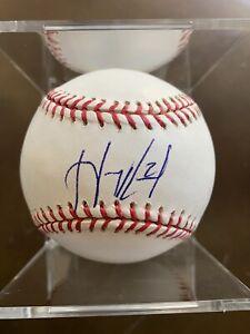 Hanley Ramirez SIGNED AUTOGRAPHED OMLB Baseball (MLB HOLO BB 429153)