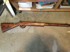 Vintage Large Fork Art  Hand Carved Wood  Rifle Very Nice Wall Hanger