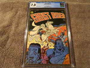 1950 Magazine Enterprises GHOST RIDER #1 Origin of Original Ghost Rider  CGC 7.0