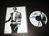 Get Carter DVD Sylvester Stallone Miranda Richarson Mickey Rourke Michael Caine