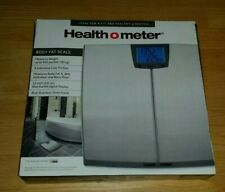 Health o Meter BFM148DQ-99 Stainless Steel Body Fat BMI & Hydration Scale