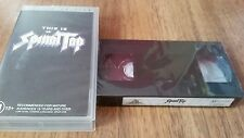 THIS IS SPINAL TAP - SPECIAL EDITION - SEALED  VIDEO  VHS TAPE