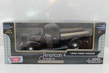 MOTORMAX   1940 Ford Pickup   1:24 Scale