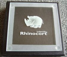 Rhinocort OR Symbicort solid glass coaster (drug rep) - BRAND NEW