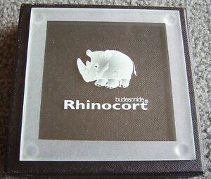 Rhinocort OR Symbicort solid glass coaster (drug rep) - BRAND NEW