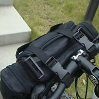 New Black Multifunction Cycling Bike Bicycle Waist Pack Shoulder Handlebar Bag