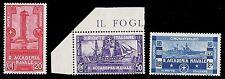 REGNO D'ITALIA 1931 - CINQUANTENARIO ACCADEMIA NAVALE LIVORNO INTEGRI € 200