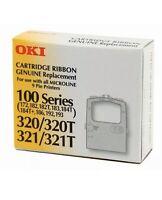 1 x OKI 100 Series Genuine Ribbon Replacement Cartridge