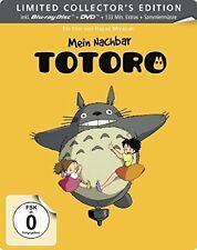 MEIN NACHBAR TOTORO BD+DVD (LIMITED STEELBOOK)  2 BLU-RAY NEU HAYAO MIYAZAKI