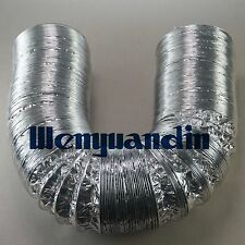 150mm 6M Long Aluminum Foil Hose Ducting Flexible Pipe Ventilation