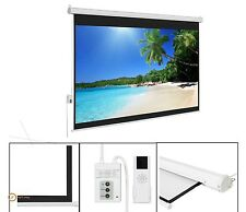 Projection Tv Screen Electronic Screens Home Theater Motorized Black Large Fixed