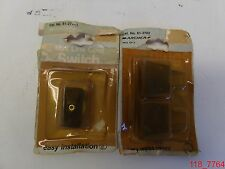 Mixed Lot of 2 Nos Radio Shack 61-2702 Quck Assy Plugs 61-27* Mini Cord Switch