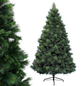 Kaemingk Weihnachtsbaum Christbaum Kunsttanne Zweige PVC PE Grün mit Fuß 180cm