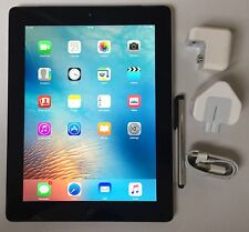 Apple iPad 3rd Generation 32GB Wi-Fi + 4G (EE) Network. 9.7in, Black.