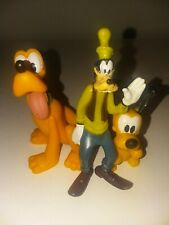 Pluto And Goofy PVC Mixed Lot A11
