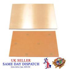 Single Sided Copper Clad Board 10cm x 15cm Bakelite PCB Foil Circuit Plate