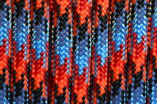 550 Paracord Rope Mil-Spec Type III - Assortment of 22 Pink & Red Colors