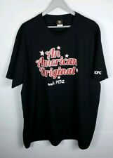 "KFC ""An American Original"" Men's 2XL Uniform Shirt Black"