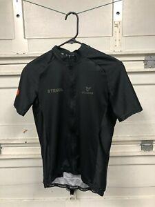 Mens Cuore Cycling Jersey Small Strava Premium Black