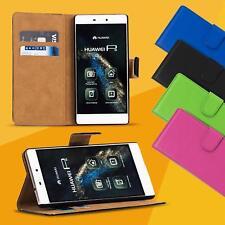 Handy Tasche für Huawei Flip Cover Case Schutz Hülle Etui Schale Wallet